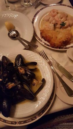 Mont Blanc : Mussels