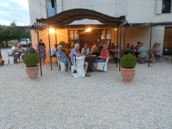 Puyvert, Francia: Terrasse
