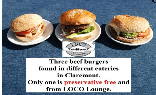 Loco Lounge: burger comparison