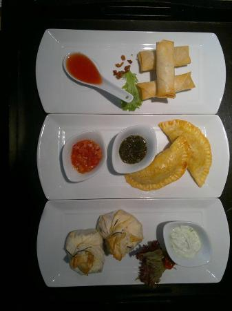 Loco Lounge: a selection of blackboard tapas