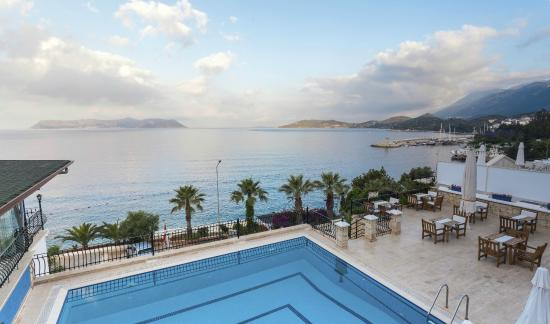 Aqua Princess Hotel: View from hotel