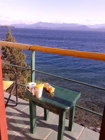 A Orillas del Lago: Balcón