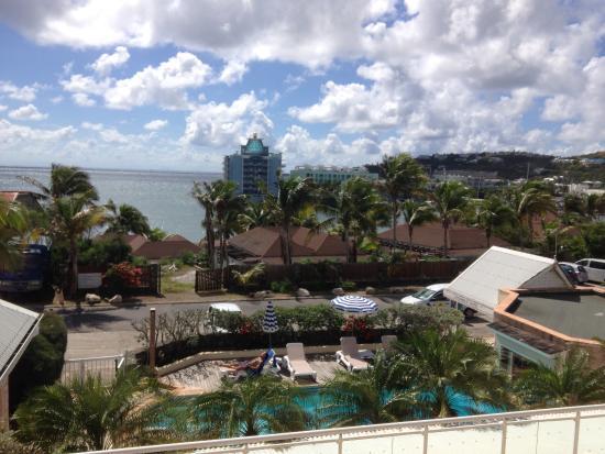 Colombus Hotel : vue depuis la chambre