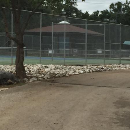 T Bar M Resort: Tennis courts , walking trails, pools