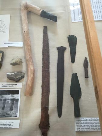 Kranzberg, Allemagne : Early bronze-age tools