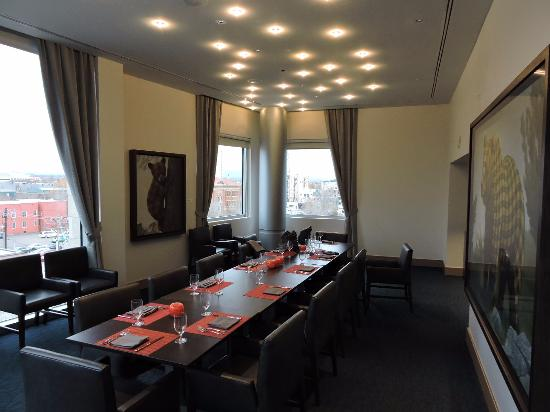 The ART A Hotel Private Dining Room At Fire Restaurant On