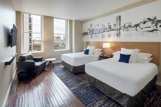 Hotel Rl Baltimore Inner Harbor By Red Lion Guest Room Double Queen