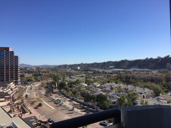 DoubleTree by Hilton Hotel San Diego - Mission Valley: Terrific view from room 1113