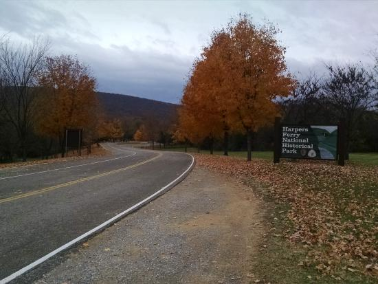 Harpers Ferry KOA: Entrance to Harpers Ferry Park