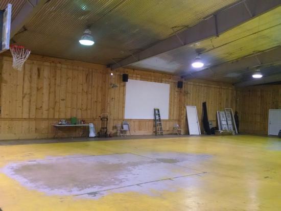 Harpers Ferry KOA: Indoor gym