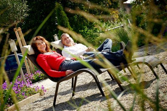 Einfach Mal In Der Sonne Liegen Bild Von Landhotel Buchbergerhof