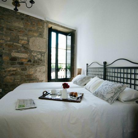 Hotel Gastronómico Arco de Mazarelos: Habitación twin