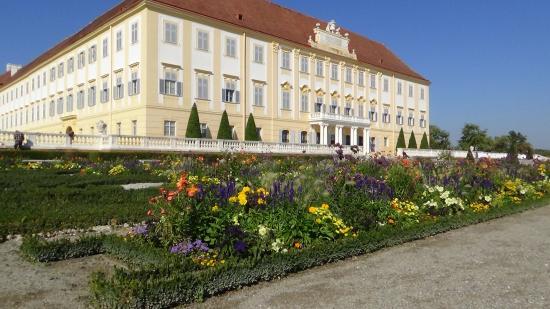 Schloss Hof: View from gardens