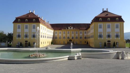 Schloss Hof: north facade