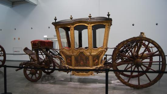 Museu Nacional dos Coches: carruajes antiguos