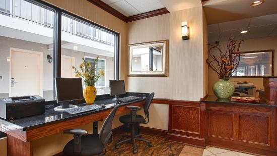 Best Western Williamsport Inn: Work Center