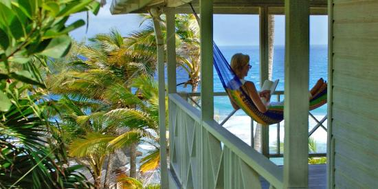 Sea-U Guest House: Relax in your hammock