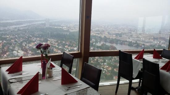 Brunch столики в кафе Picture Of Donauturm Vienna Tripadvisor