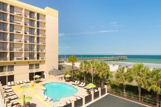 Surfside Beach Oceanfront Hotel: Pool