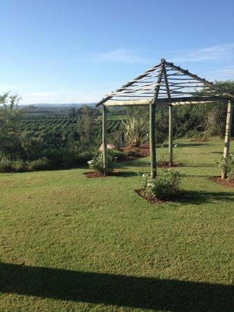 Addo, Sydafrika: Looking out from the room
