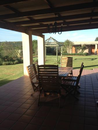 Addo, Sydafrika: The shared eating area for this area