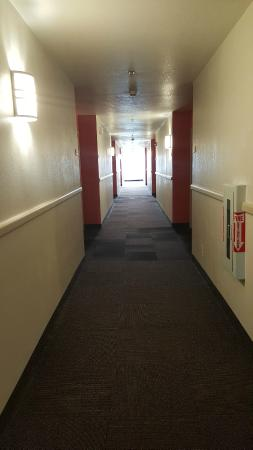 Motel 6 Niagara Falls: Hallway
