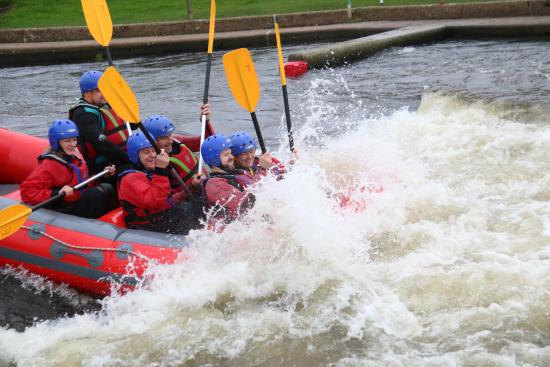 Holme Pierrepont, UK: rafting