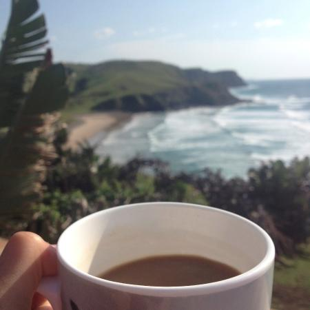 Lubanzi Village, Güney Afrika: coffee with a view