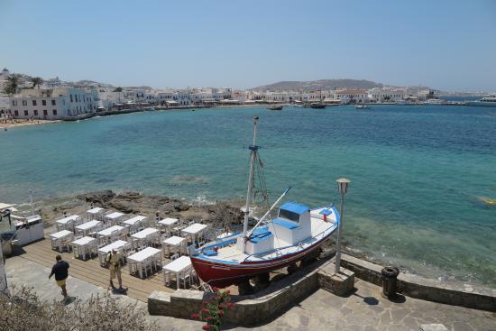 Villa Pinelopi Apartments & Rooms: View of Mykonos harbour