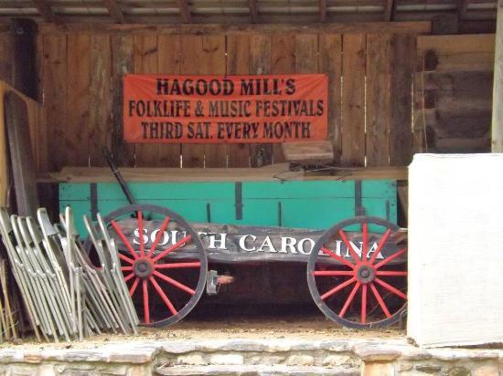 Pickens, Carolina del Sud: Hagood Mill Historic Site