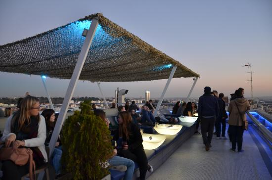 Noche fotograf a de terrazas c rculo de bellas artes for Terrazas nocturnas madrid