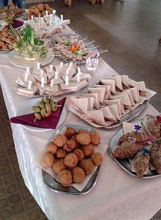 Hotel Dell' Amarissimo : buffet