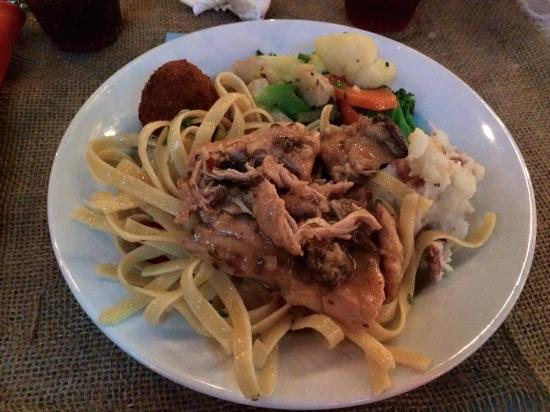Palm Beach Hibiscus: From the buffet