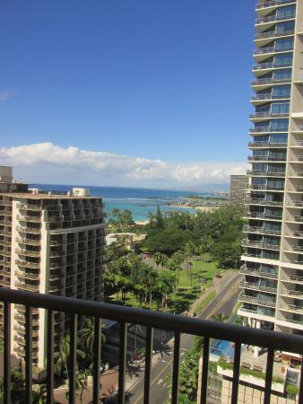 Ocean View From 18th Floor Hula Wing Picture Of Embassy Suites By