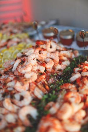 Horseshoe Bay, TX: Shrimp Bar