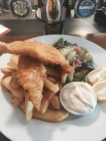 Woodbourne Tavern & Restaurant : Fresh Fish of the Day - Butterfish