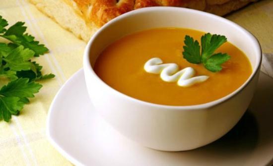 Woodbourne Tavern & Restaurant : Creamy Pumpkin Soup