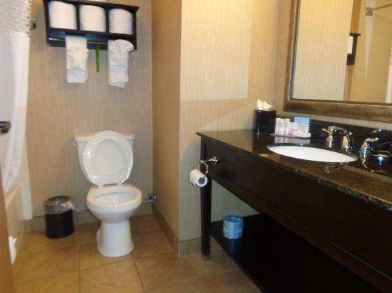 LaGrange, Georgien: bathroom