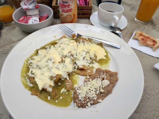 Hotel Meson de los Remedios: Desayuno