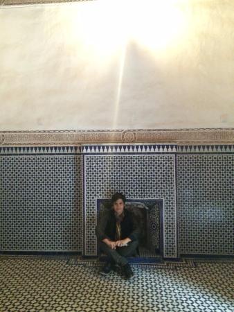 Aoufous, Maroko: Acampamento deserto