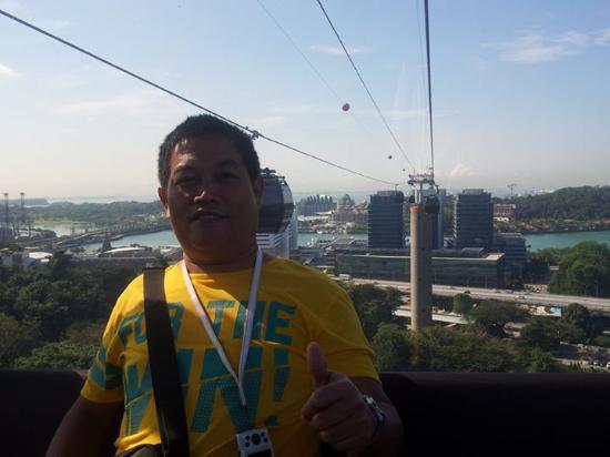Singapore Cable Car (Sentosa): Mt.Faber cable car ride to Sentosa  Island