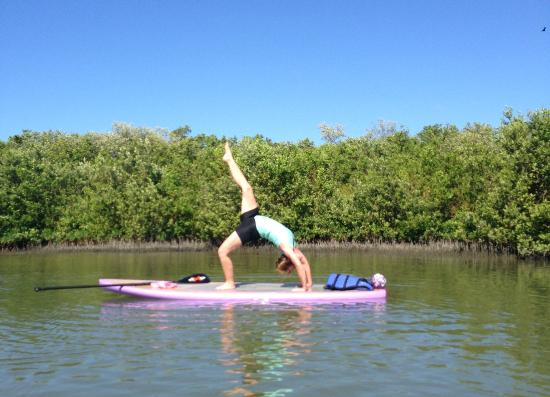 Swfl Standup Paddle Board Yoga