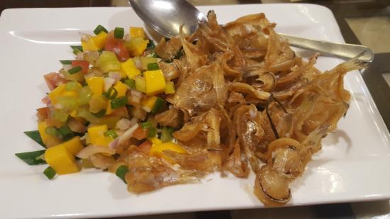 Chef Doy's: dilis salad