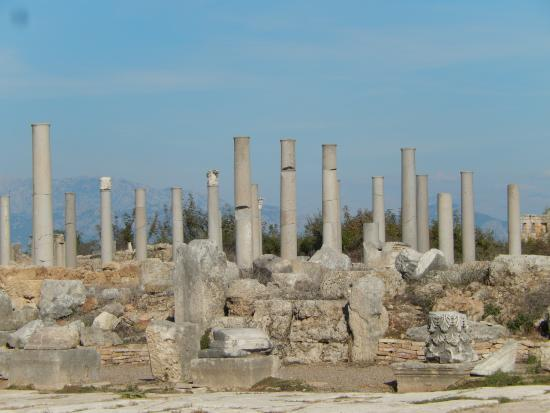 Perge ... - Picture of Perge Ancient City, Antalya ...