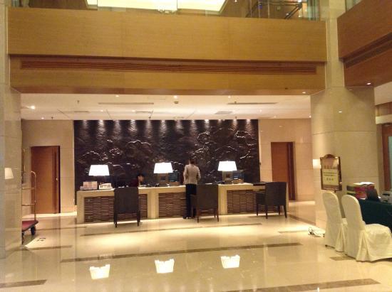 Geosciences International Conference Centre: Reception