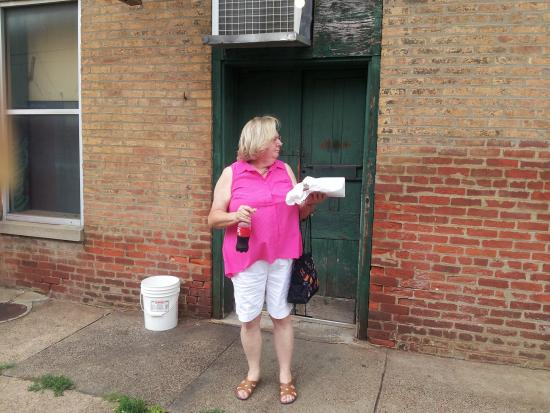 Maysville, KY: Patricia at Hutchsion's Green Door
