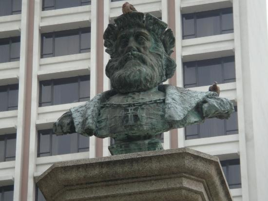 View from the Street - Picture of Jardim de Vasco da Gama e6952f8d17459