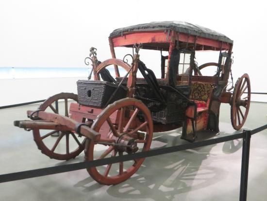 Museu Nacional dos Coches: Carruagem