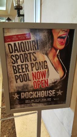 Rockhouse Bar & Nightclub : Some subtle advertisement