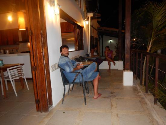 Posada Paraiso Azul : Balcon/vereda